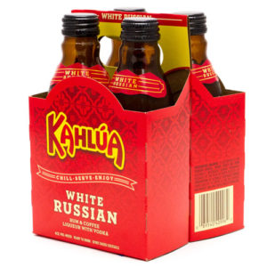 Kahlua White Russian-4 packs
