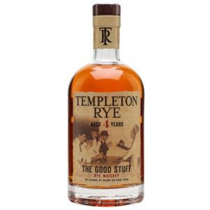 Templeton Rye 4 yr