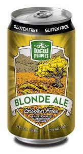New Planet Blonde Ale – Gluten Free