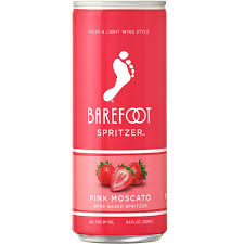 Barefoot Spritzer Pink Moscato