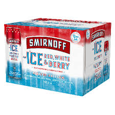 Smirnoff Red, White & Berry 12 Pack Cans