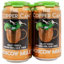 Copper Can Mule